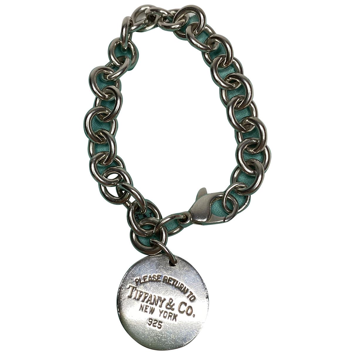 Tiffany & Co Return to Tiffany Silver Silver bracelet for Women N