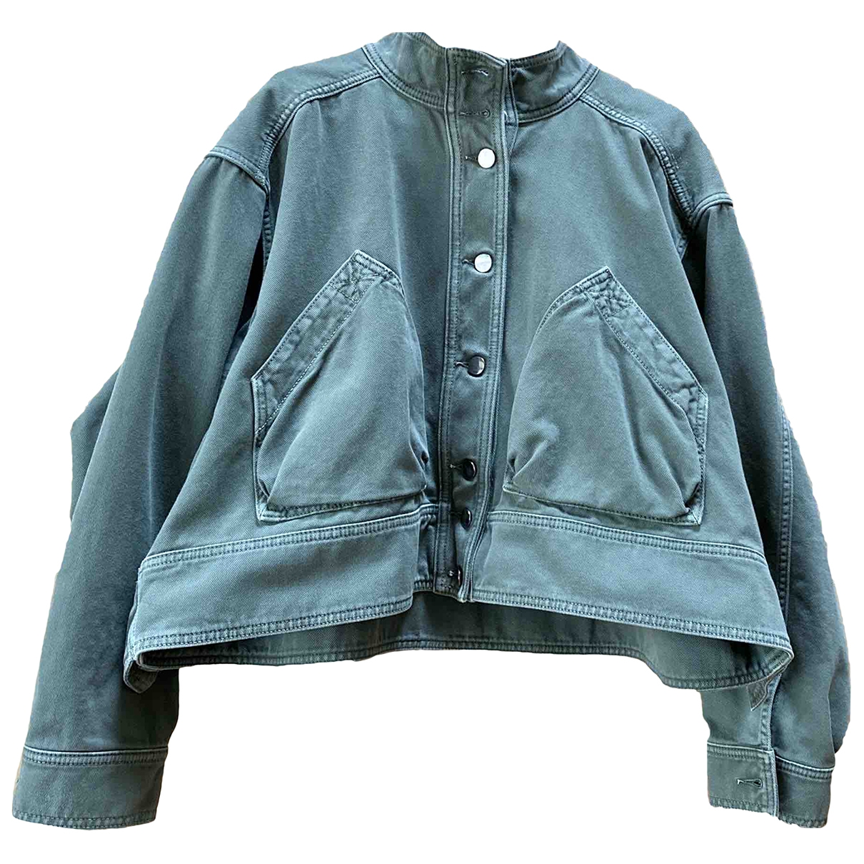 Valentino Garavani \N Green Cotton jacket for Women 40 IT