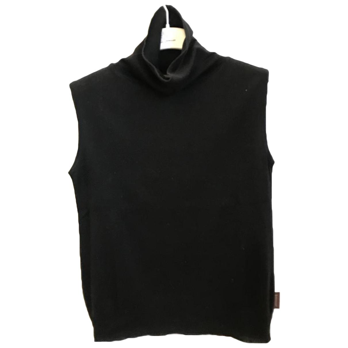 Moncler \N Top in  Schwarz Baumwolle