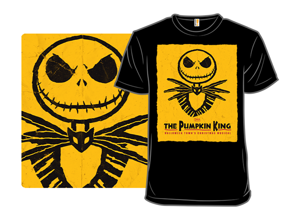 The Pumpkin King T Shirt
