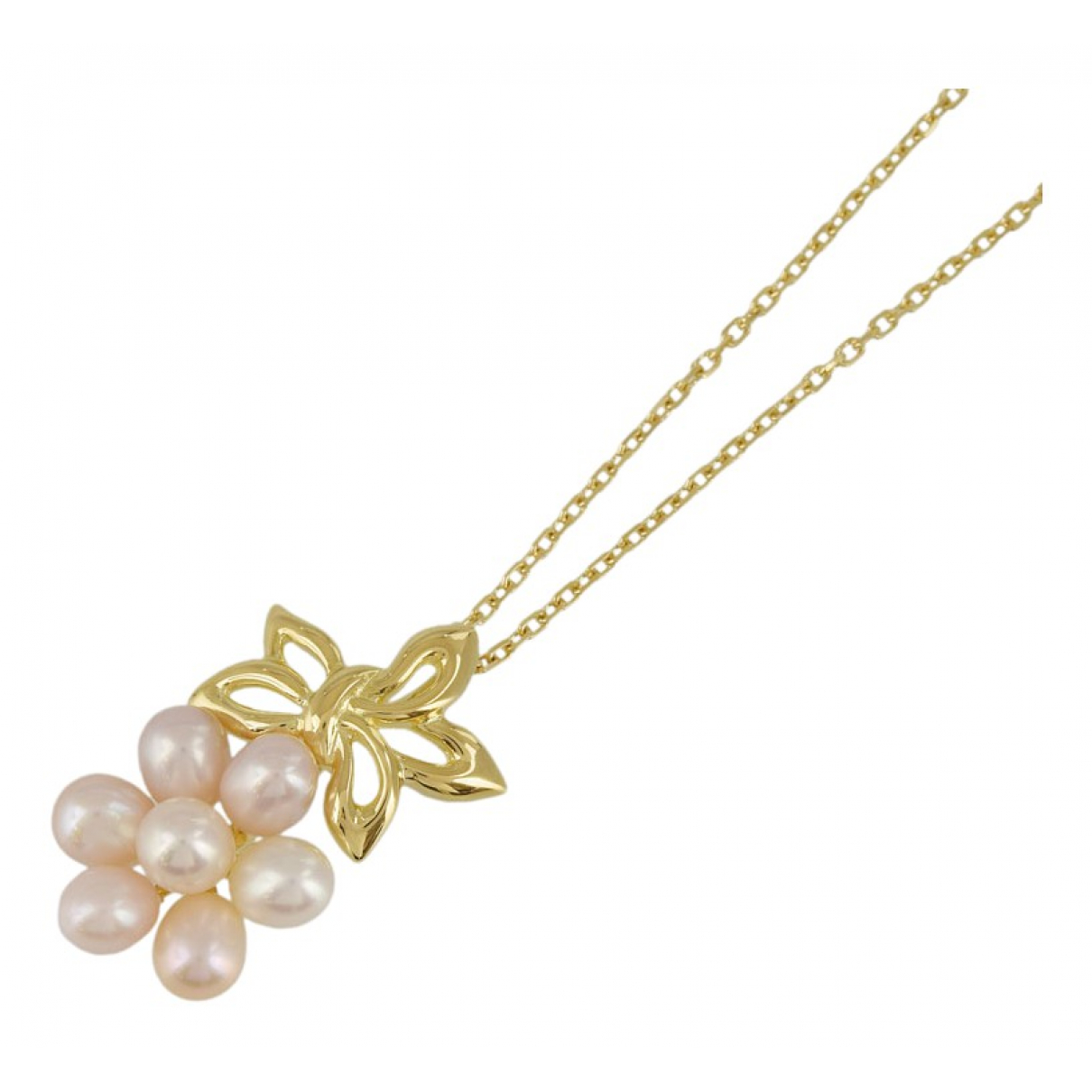 Mikimoto \N Gold Yellow gold necklace for Women \N