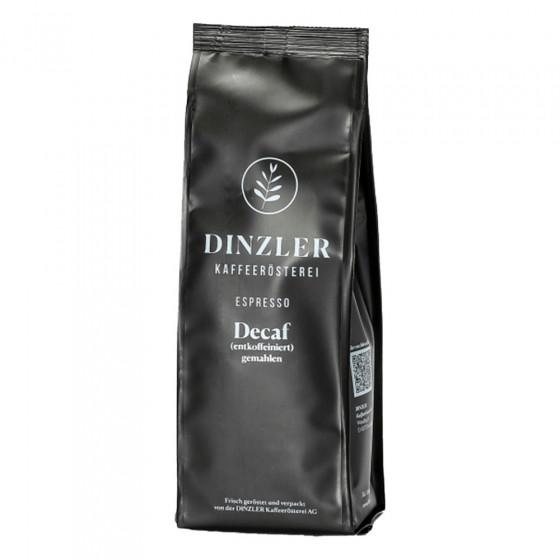 """Kaffeebohnen Dinzler Kaffeerosterei """"Espresso Decaf entkoffeiniert"""", 250 g"""