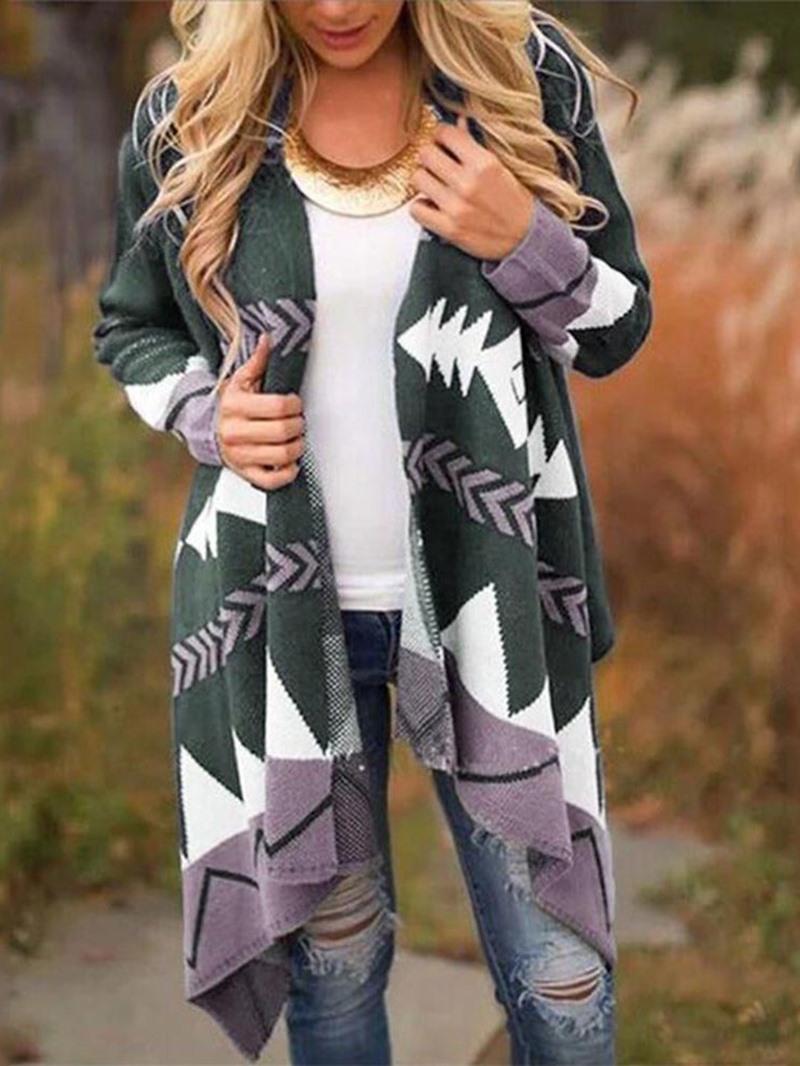 Ericdress Long Casual Women's Trench Coat