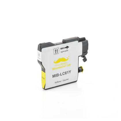 Compatible Brother MFC-J410W Yellow Ink Cartridge by Moustache