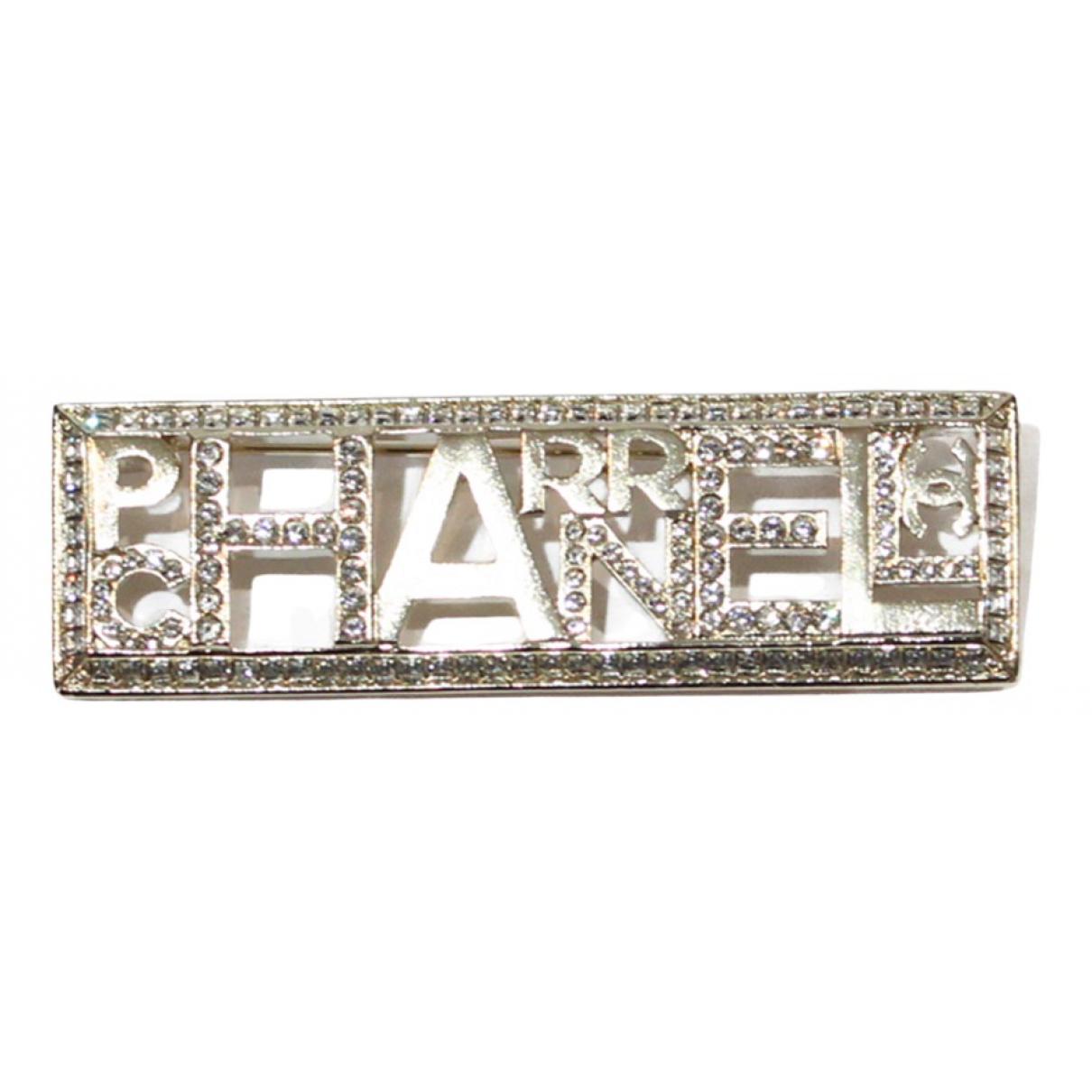 Chanel X Pharrell Williams \N Brosche in  Gold Metall
