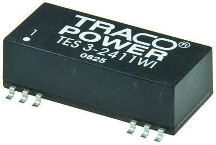 TRACOPOWER TES 3WI 3W Isolated DC-DC Converter Surface Mount, Voltage in 18 → 36 V dc, Voltage out 3.3V dc