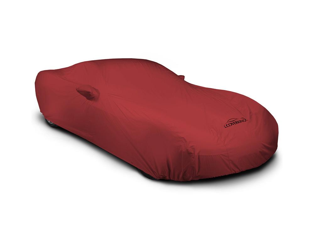 Coverking CVC2SP94VW9365 CVC2SP94 Stormproof Red Class 2 Custom Car Cover Volkswagen Golf R | e-Golf | Golf | GTI | Golf SportWagen 2015-2021