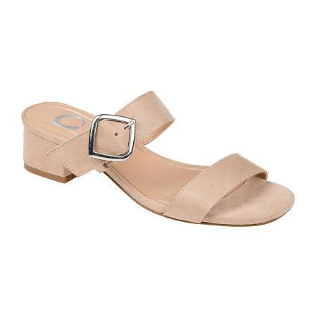 Journee Collection Womens Santana Slip-On Shoe, 10 Medium, Beige