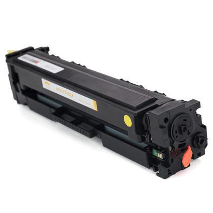 Compatible HP 201X CF402X Yellow Toner Cartridge High Yield - Moustache - 1/Pack