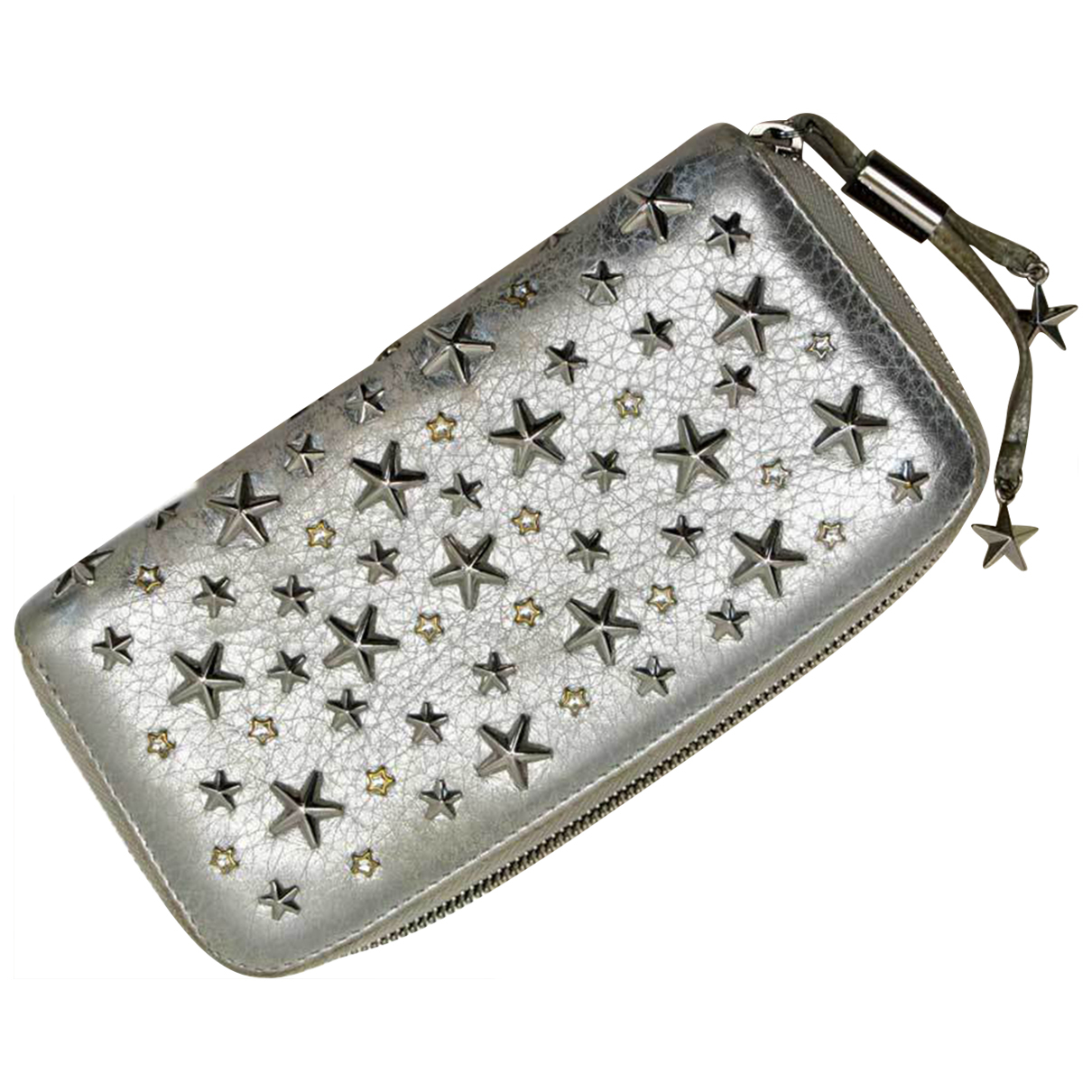 Jimmy Choo \N Silver Leather wallet for Women \N