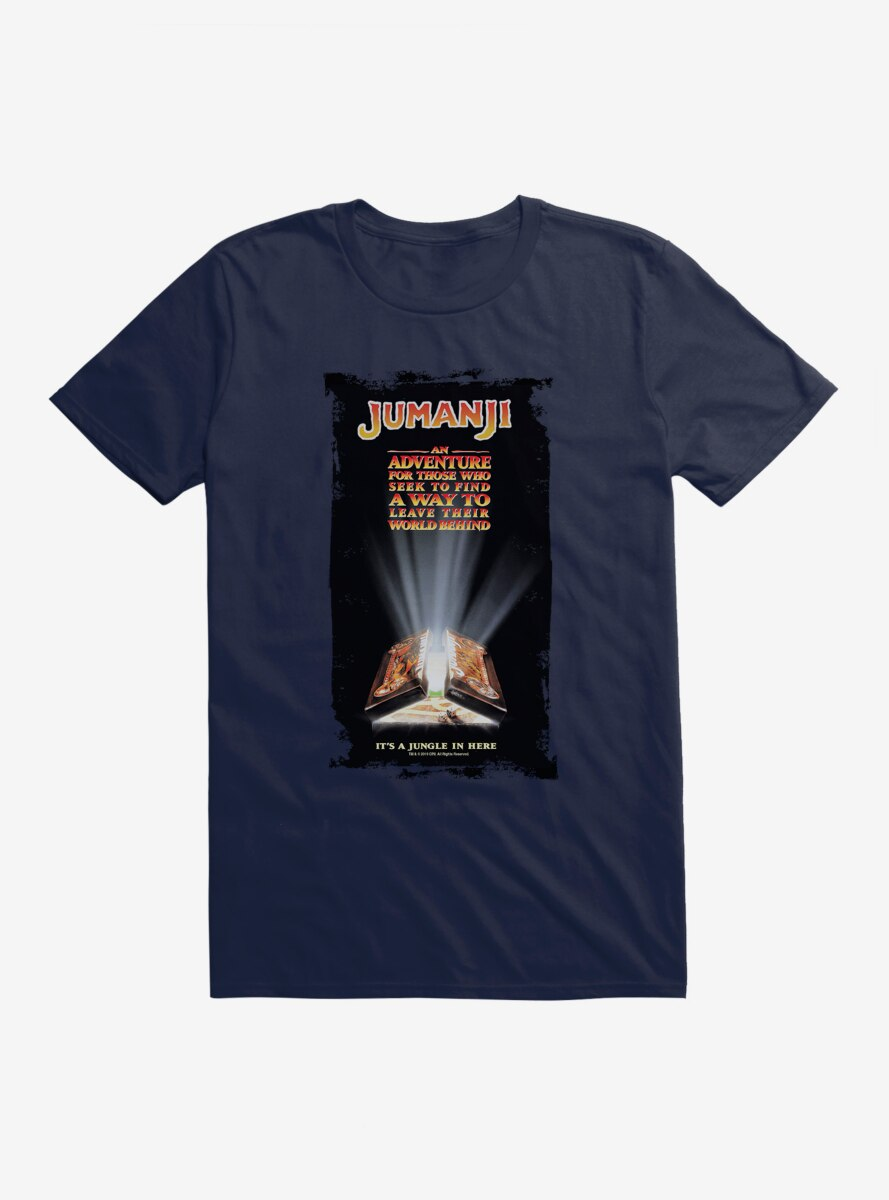 Jumanji Movie Poster T-Shirt