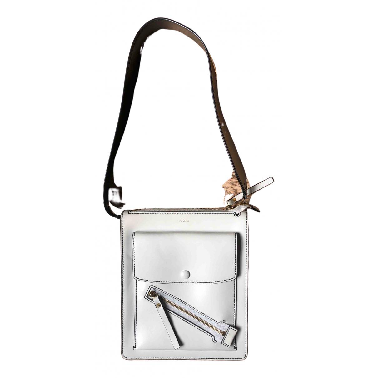 Joseph \N White Leather handbag for Women \N
