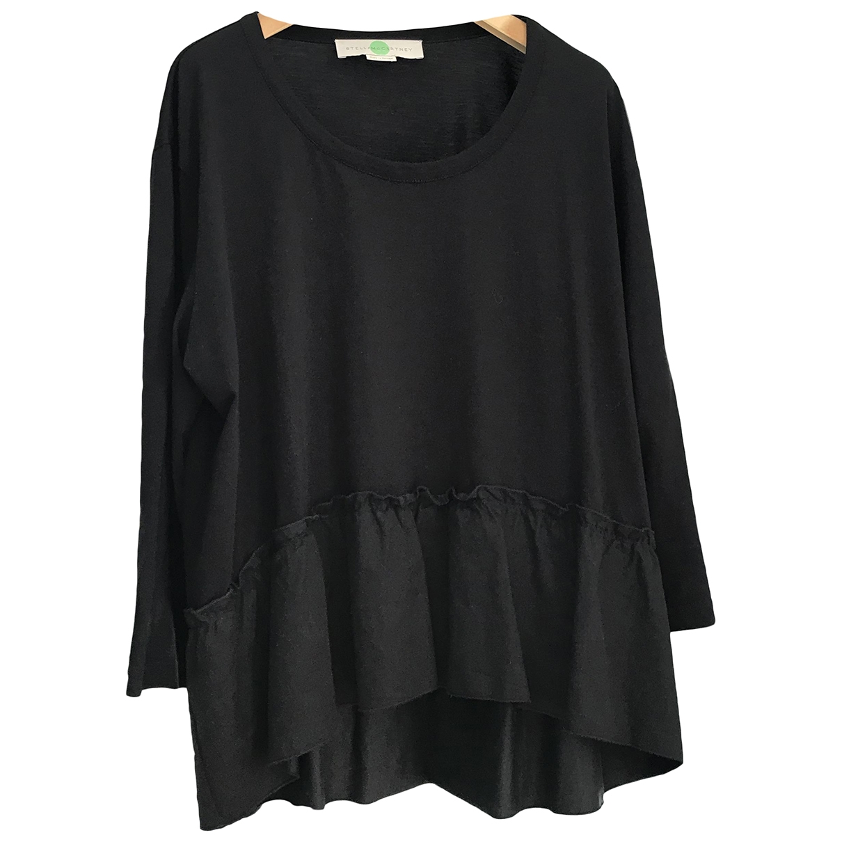 Stella Mccartney \N Black Cotton  top for Women 40 IT