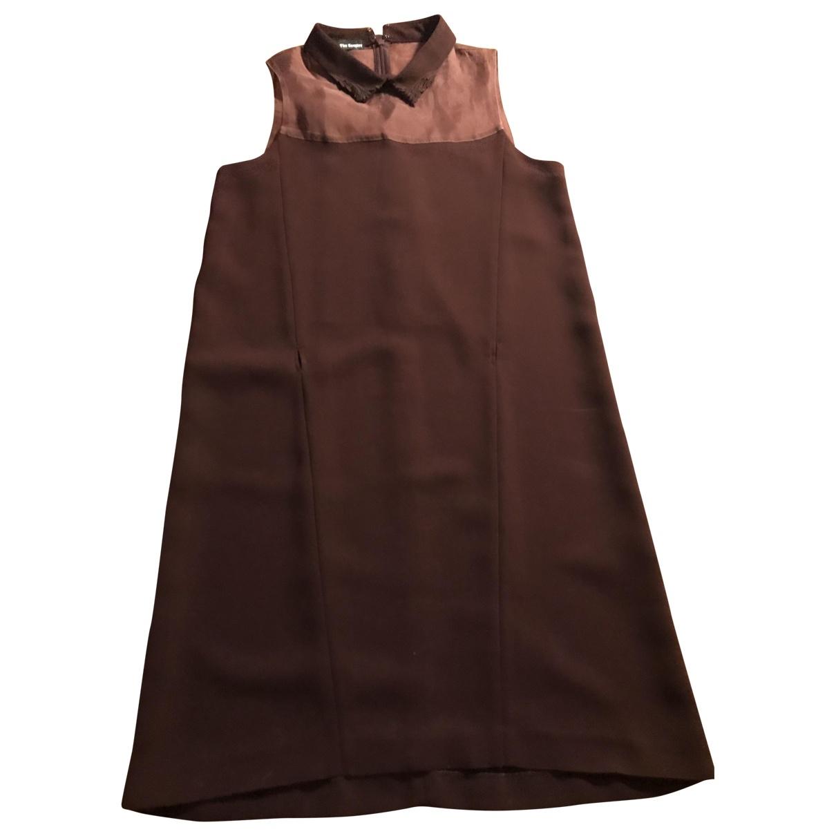 The Kooples \N Kleid in  Bordeauxrot Polyester