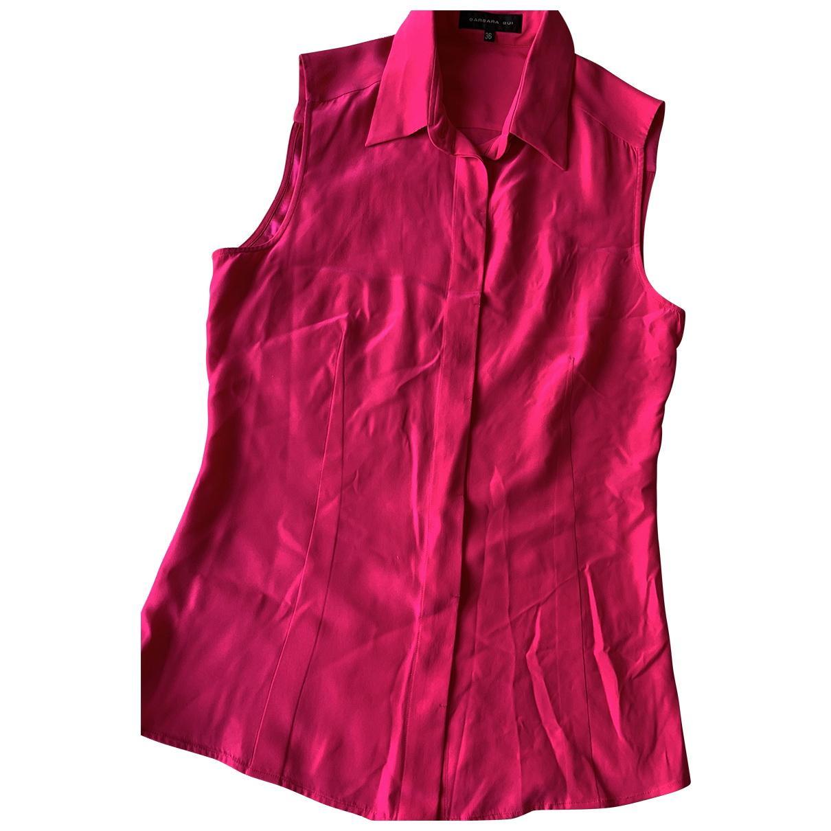 Barbara Bui - Top   pour femme en soie - rose