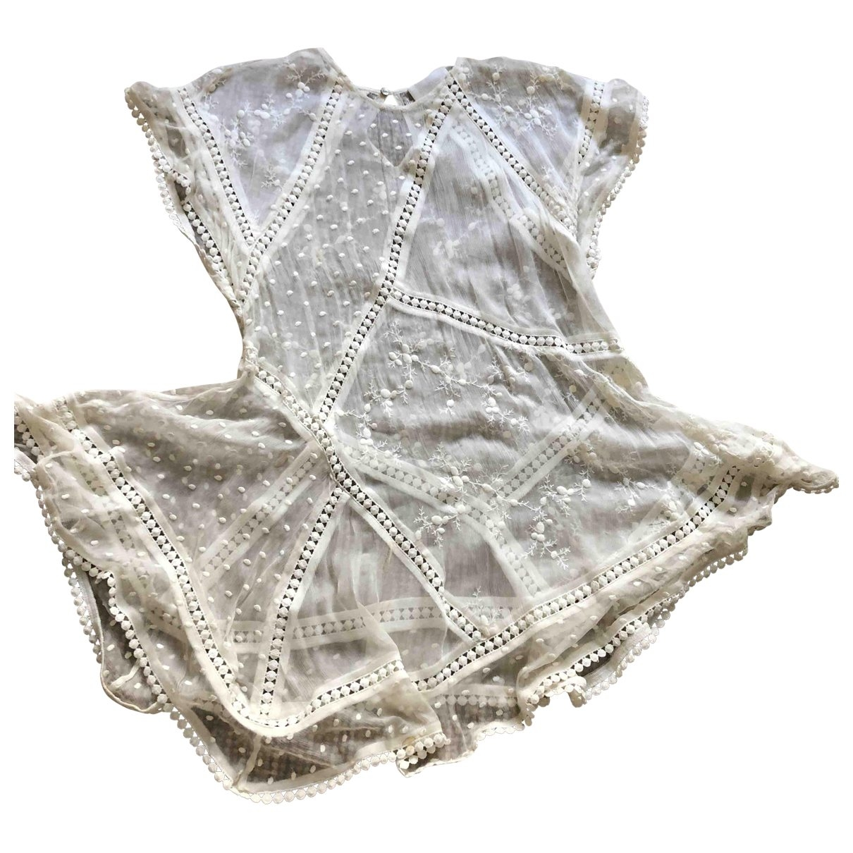 Zimmermann \N White Lace  top for Women 1 0-5