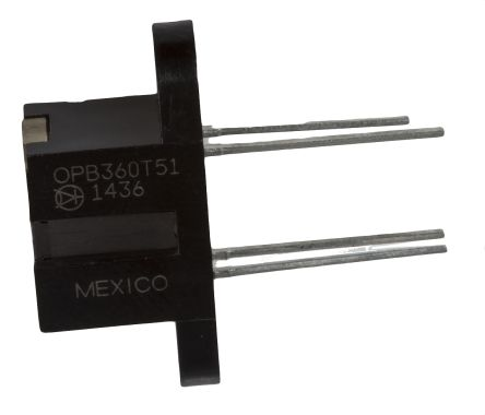 Optek OPB360T51 , Screw Mount Slotted Optical Switch, Phototransistor Output