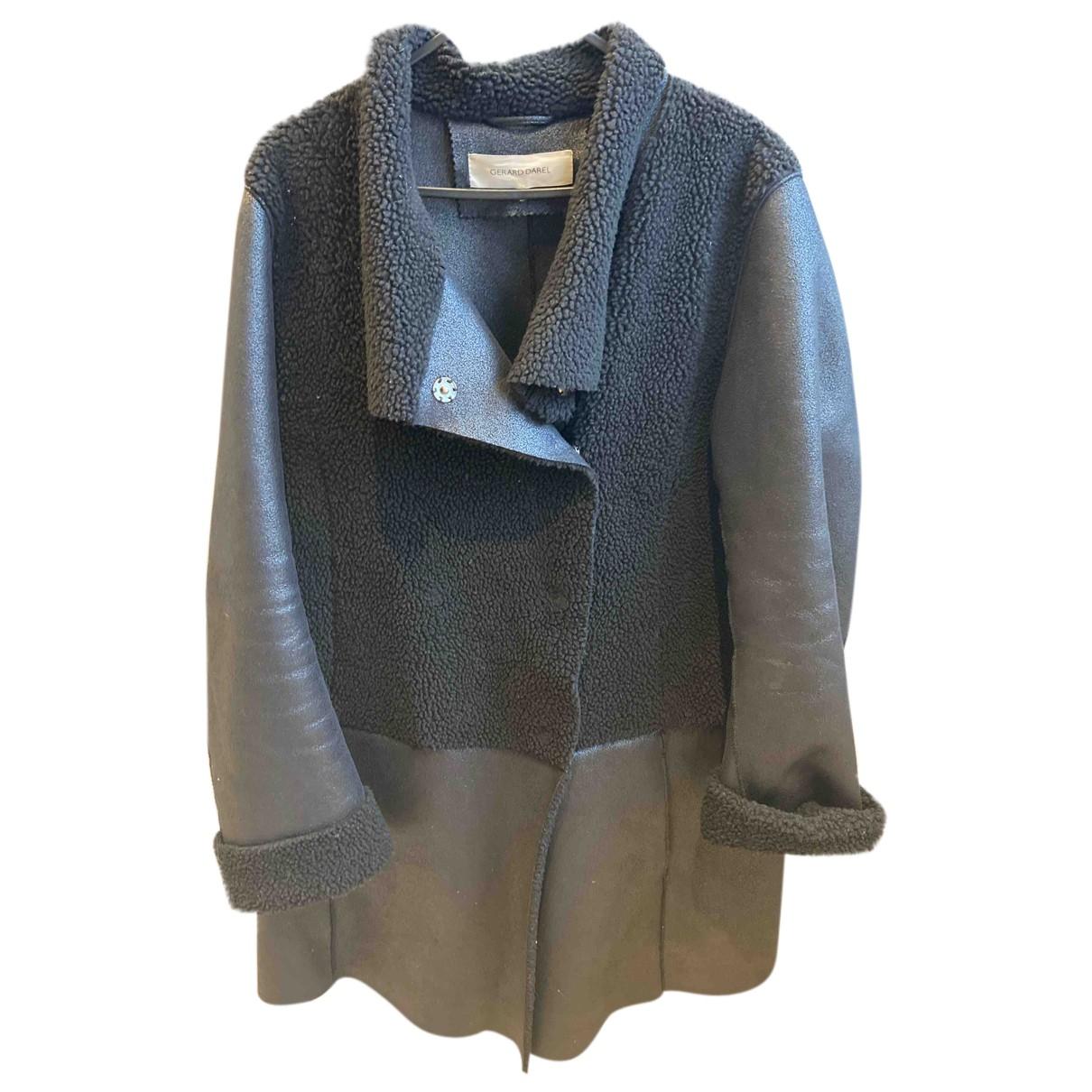 Gerard Darel N Black coat for Women 38 FR