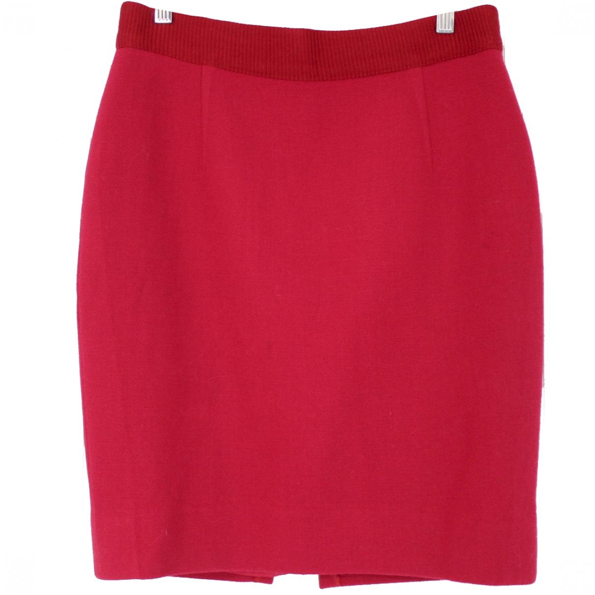Giambattista Valli \N Red Wool skirt for Women L International