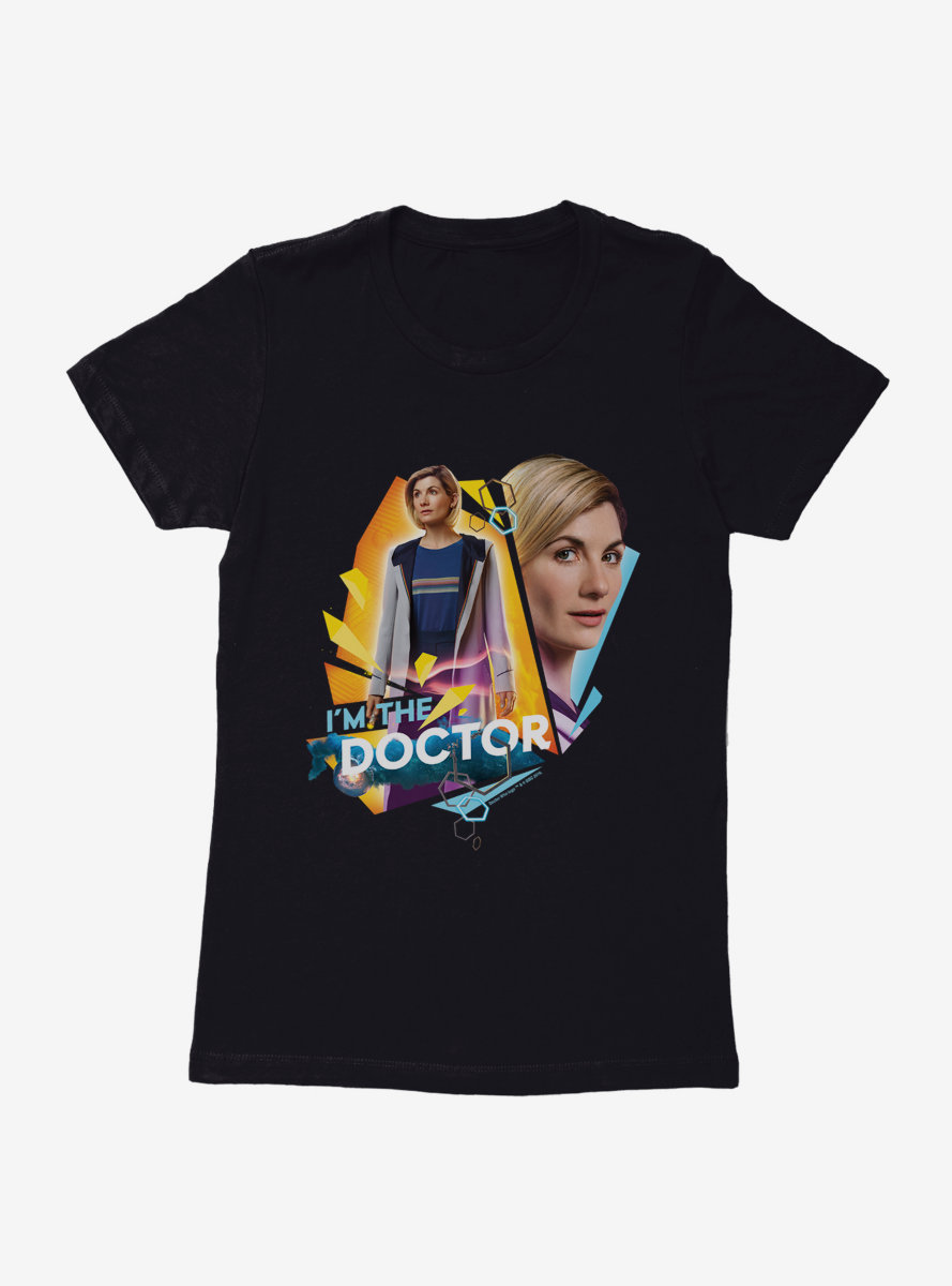 Doctor Who Thirteenth Doctor I Am The Doctor Womens T-Shirt