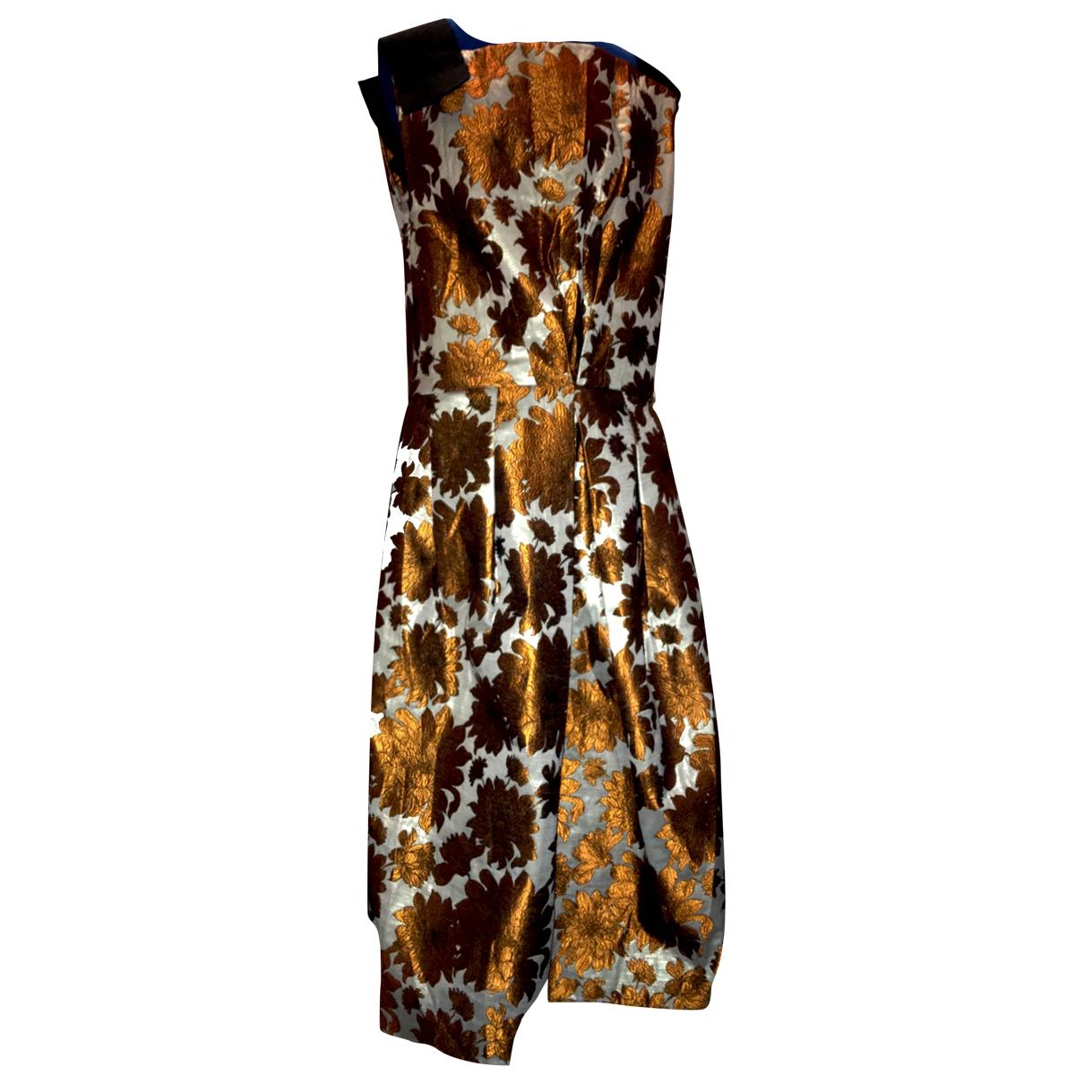 - Robe   pour femme - metallise