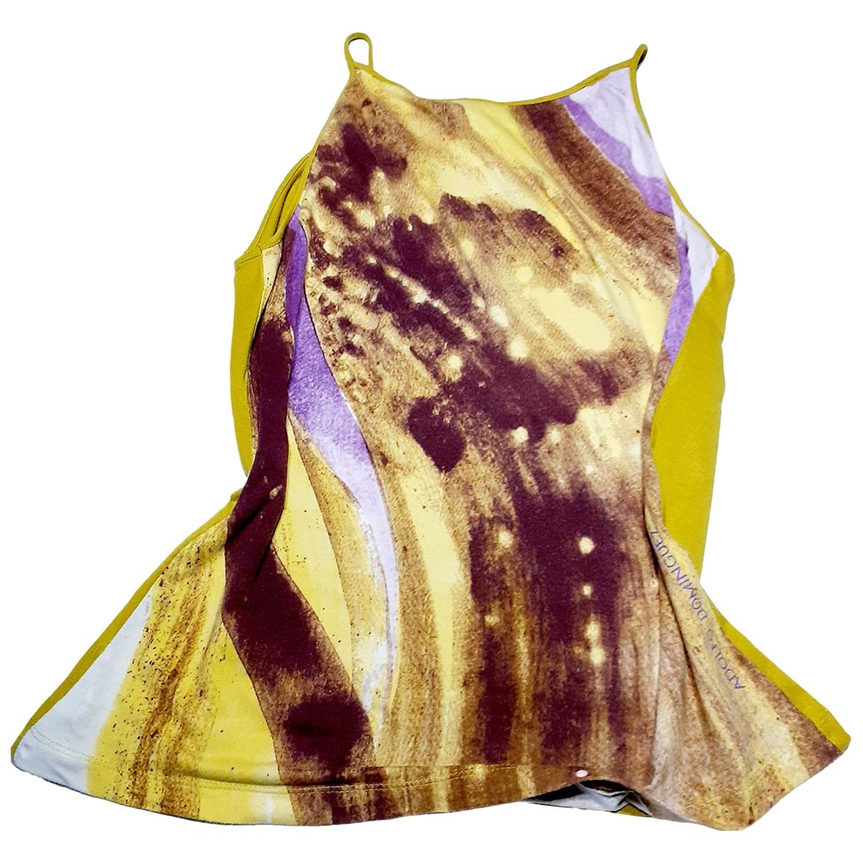 Adolfo Dominguez - Top   pour femme en coton - multicolore