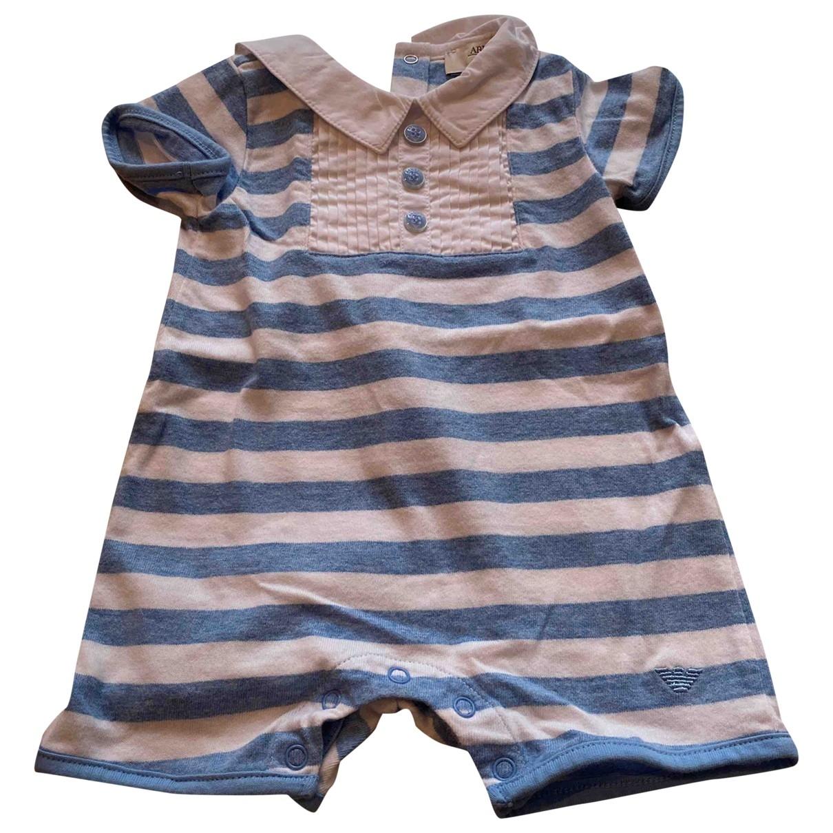 Armani Baby \N Sets in  Blau Baumwolle