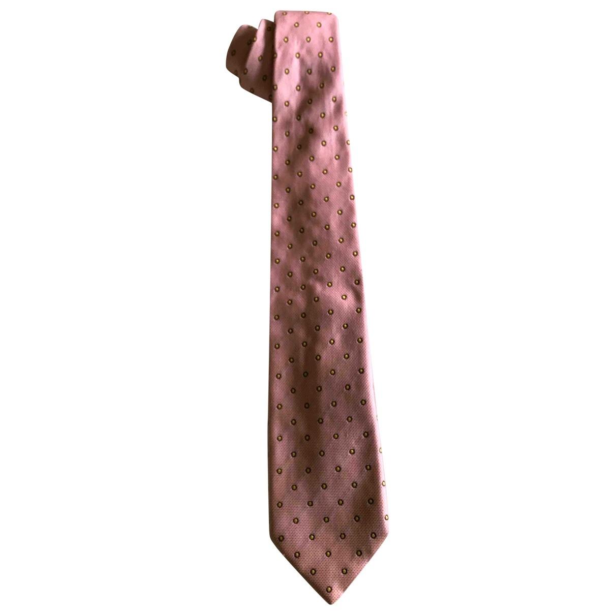 Altea - Cravates   pour homme en soie - rose