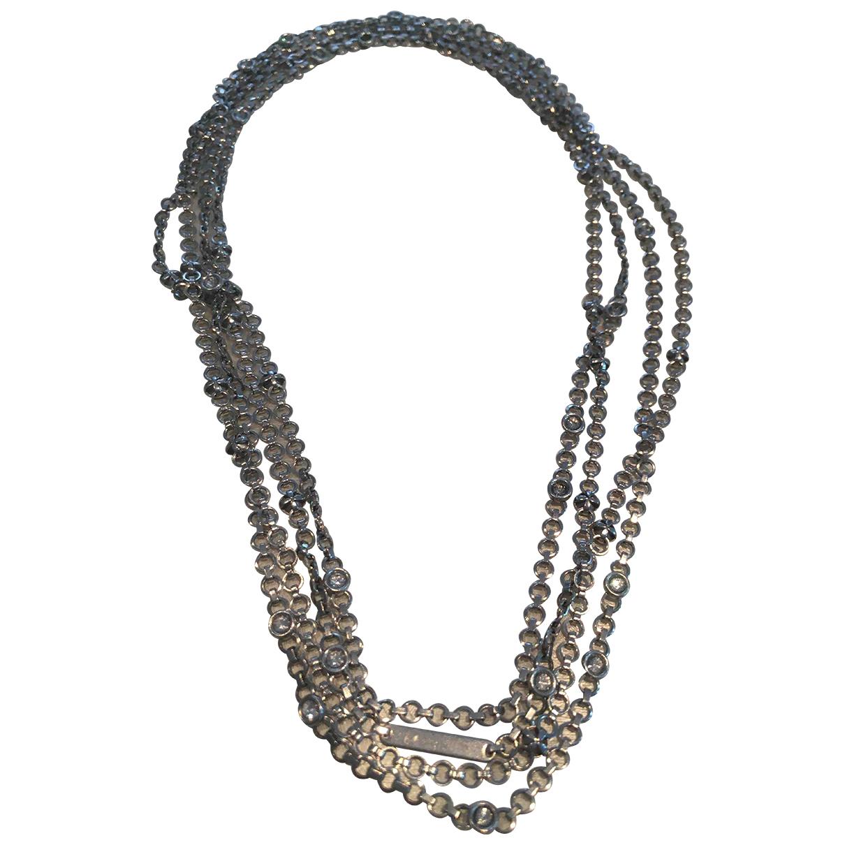 Swatch - Collier   pour femme en acier - gris