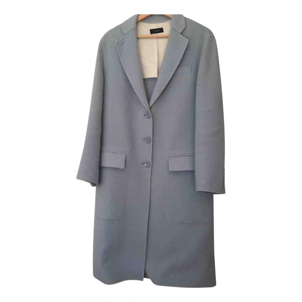 Joseph N Blue Wool coat for Women 36 FR