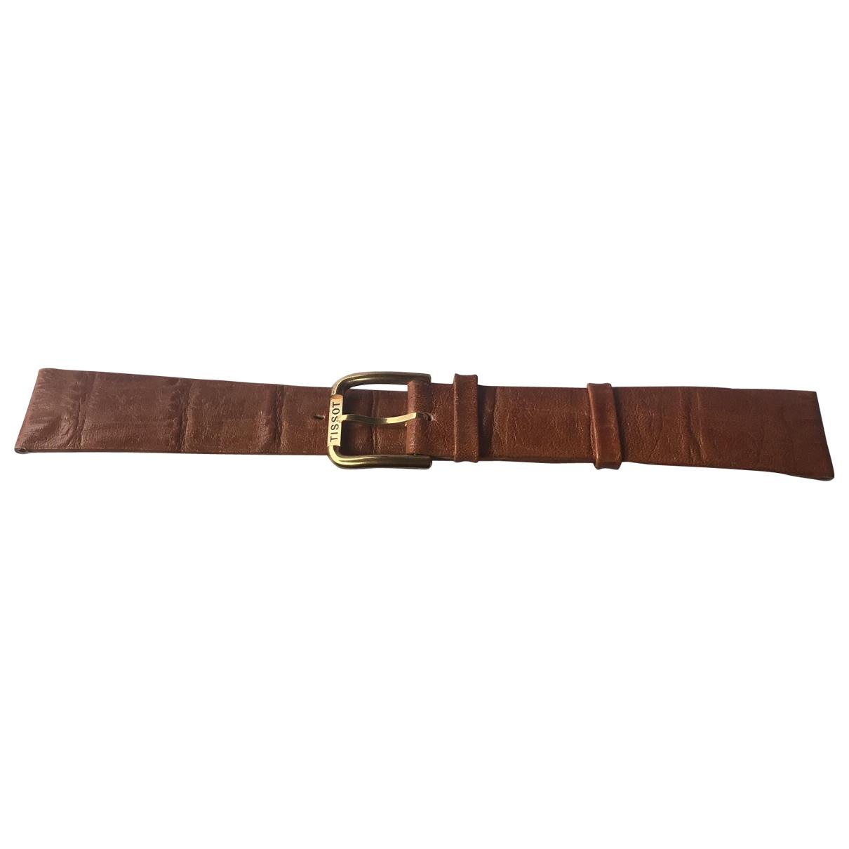 Tissot \N Accessoires in  Braun Leder