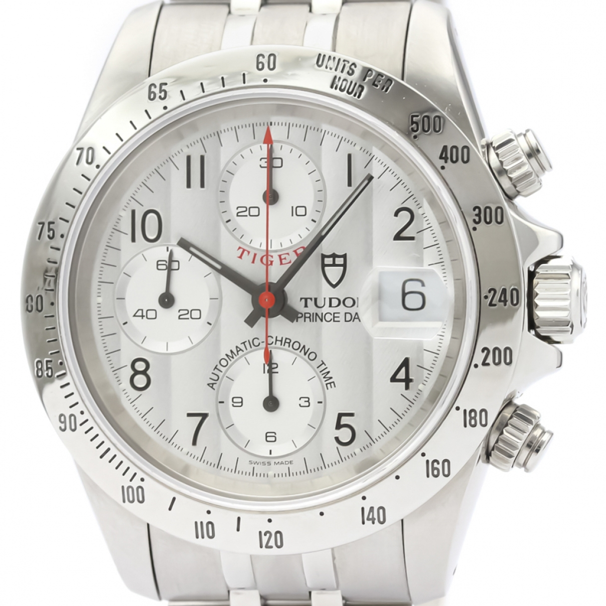 Tudor \N Silver Steel watch for Men \N
