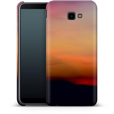 Samsung Galaxy J4 Plus Smartphone Huelle - Sunset von Joy StClaire