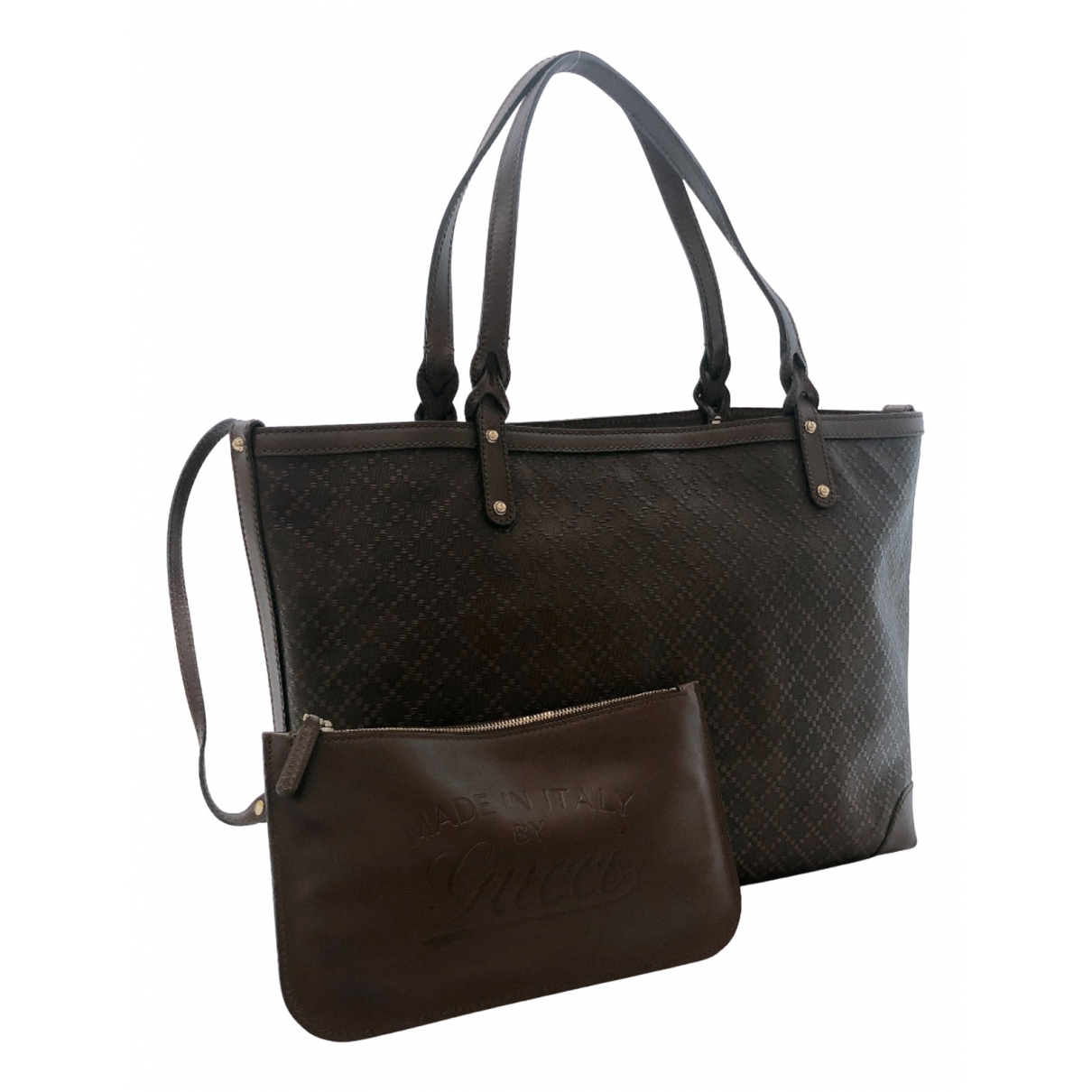 Gucci N Brown Leather handbag for Women N