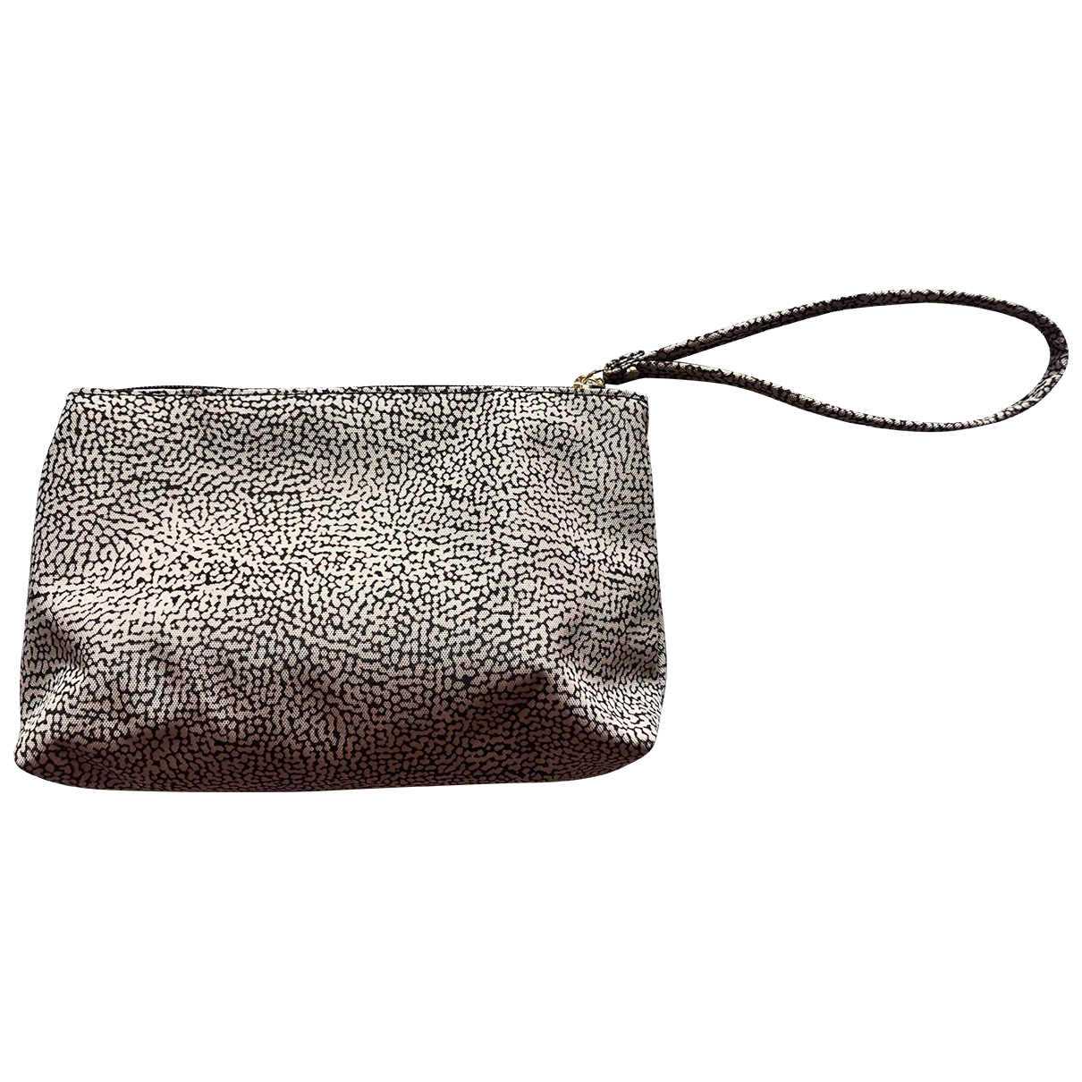 Non Signé / Unsigned \N Beige Cloth Clutch bag for Women \N