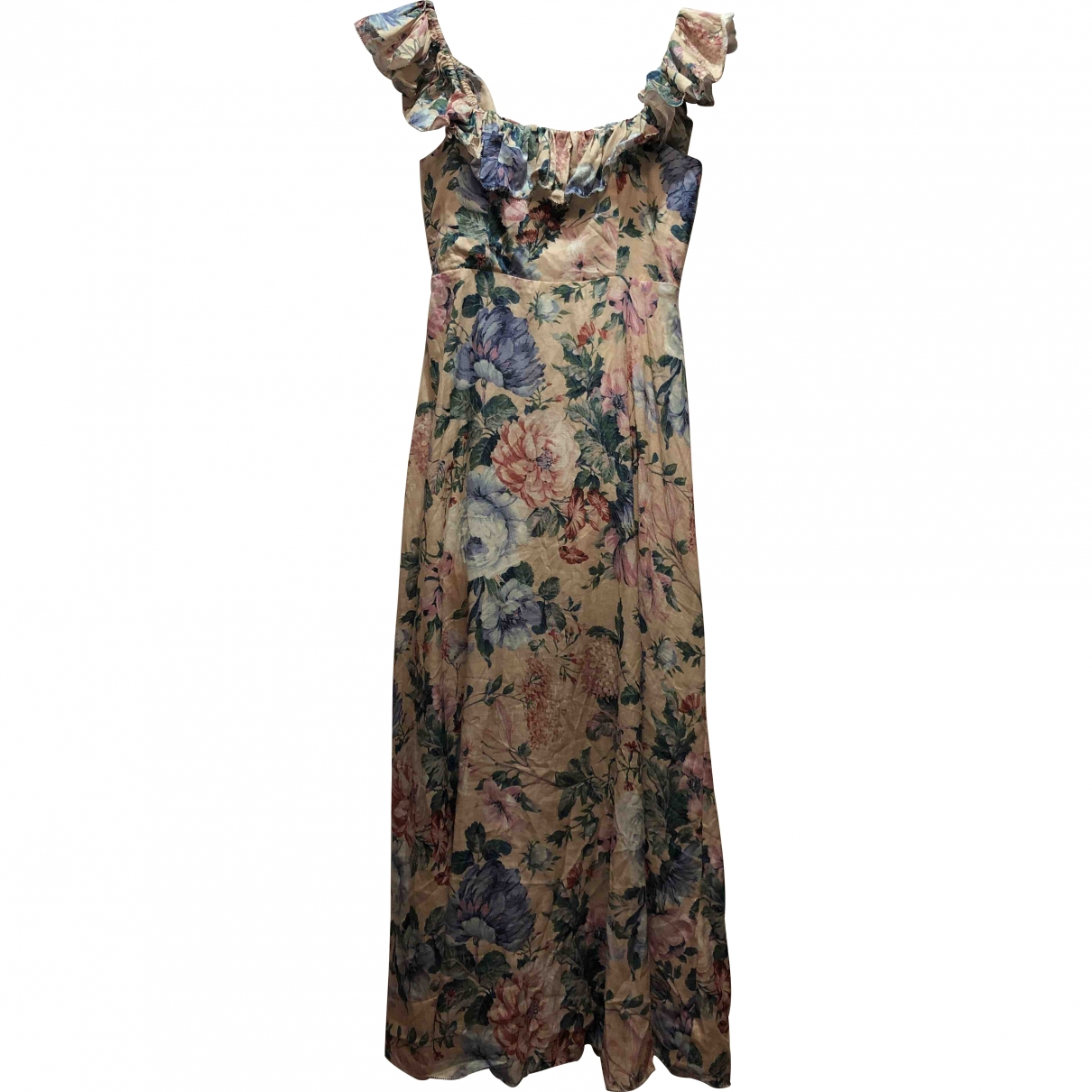 Zimmermann \N Multicolour Linen dress for Women 1 0-5