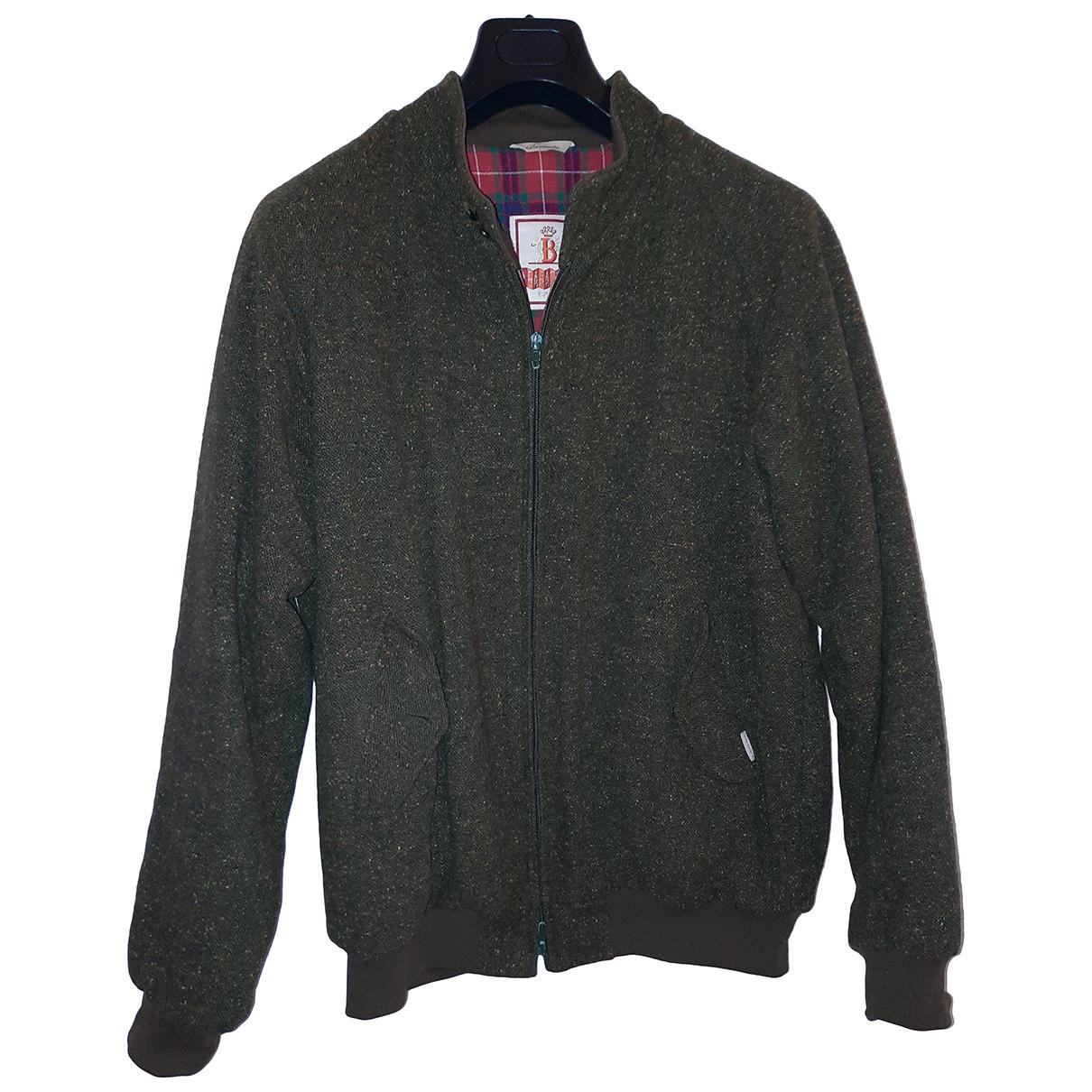 Baracuta - Vestes.Blousons   pour homme en laine - vert