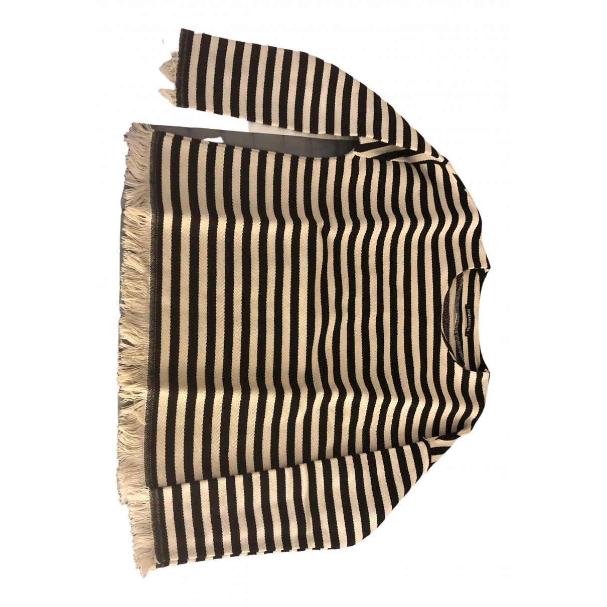 Nineminutes - Top   pour femme en coton - beige