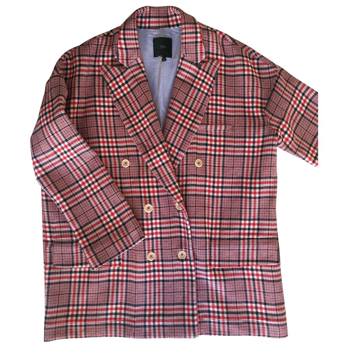 Non Signé / Unsigned \N Multicolour Cotton jacket for Women 44 IT