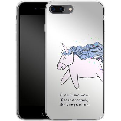 Apple iPhone 7 Plus Silikon Handyhuelle - Sternstaub von caseable Designs