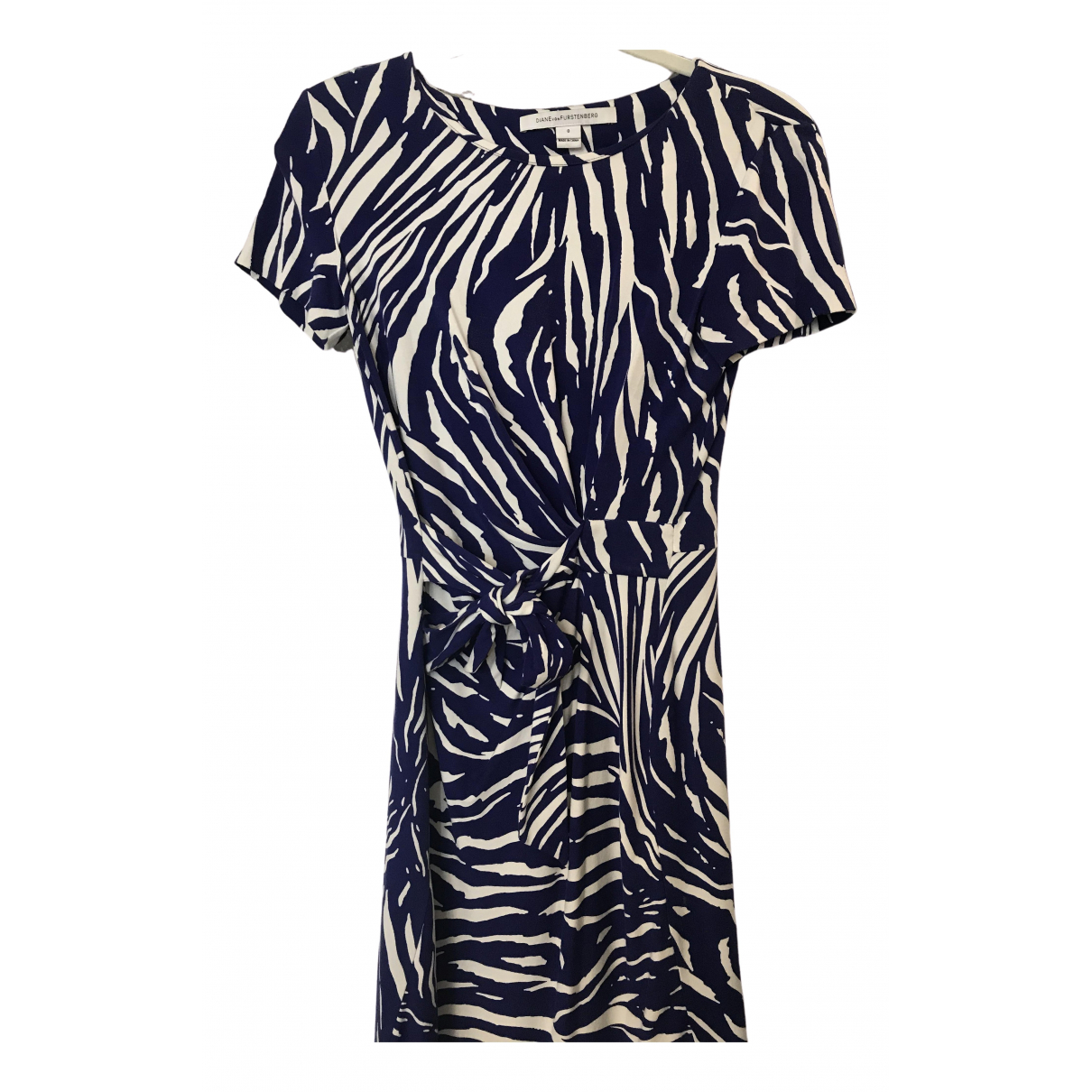 Diane Von Furstenberg \N Blue dress for Women XS International
