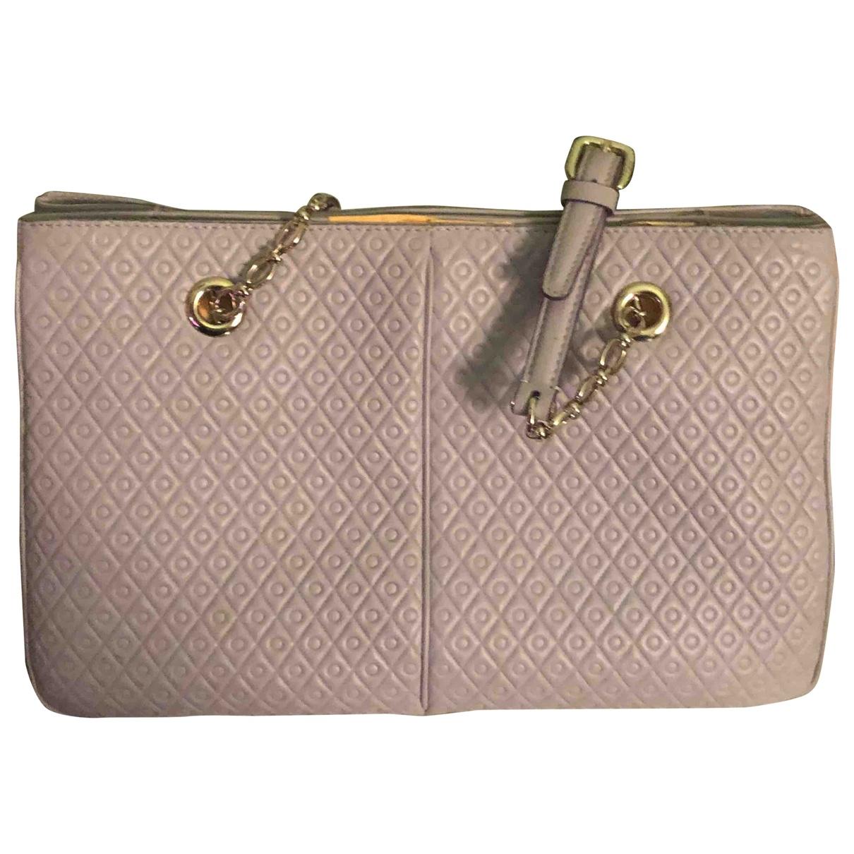 Tods \N Handtasche in  Grau Leder
