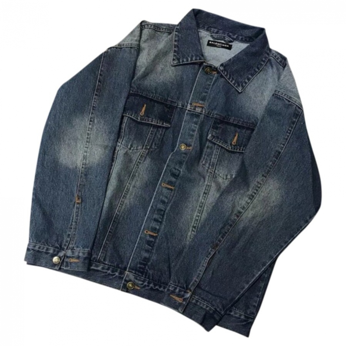 Balenciaga \N Blue Denim - Jeans jacket  for Men M