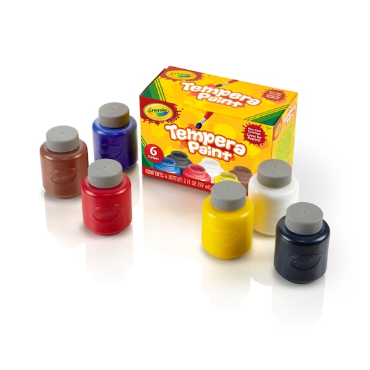 Crayola® Tempera Paint Kit, 6Ct. | Michaels®