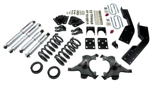 Belltech 787SP 4-5inch Front 7inch Rear Lowering Kit w/ SP Shocks Chevrolet Suburban 2WD 1992-1994