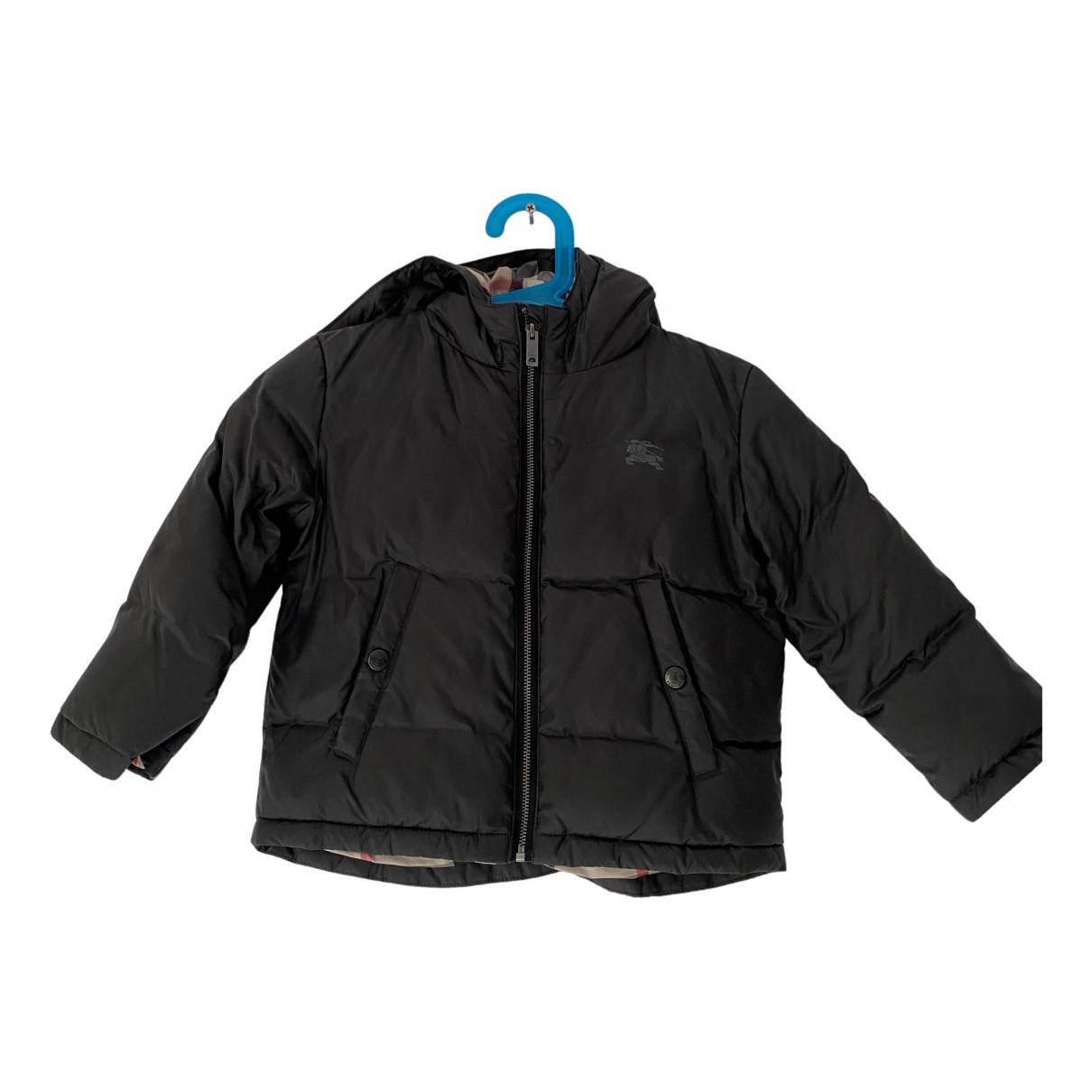 Burberry - Blousons.Manteaux   pour enfant - gris