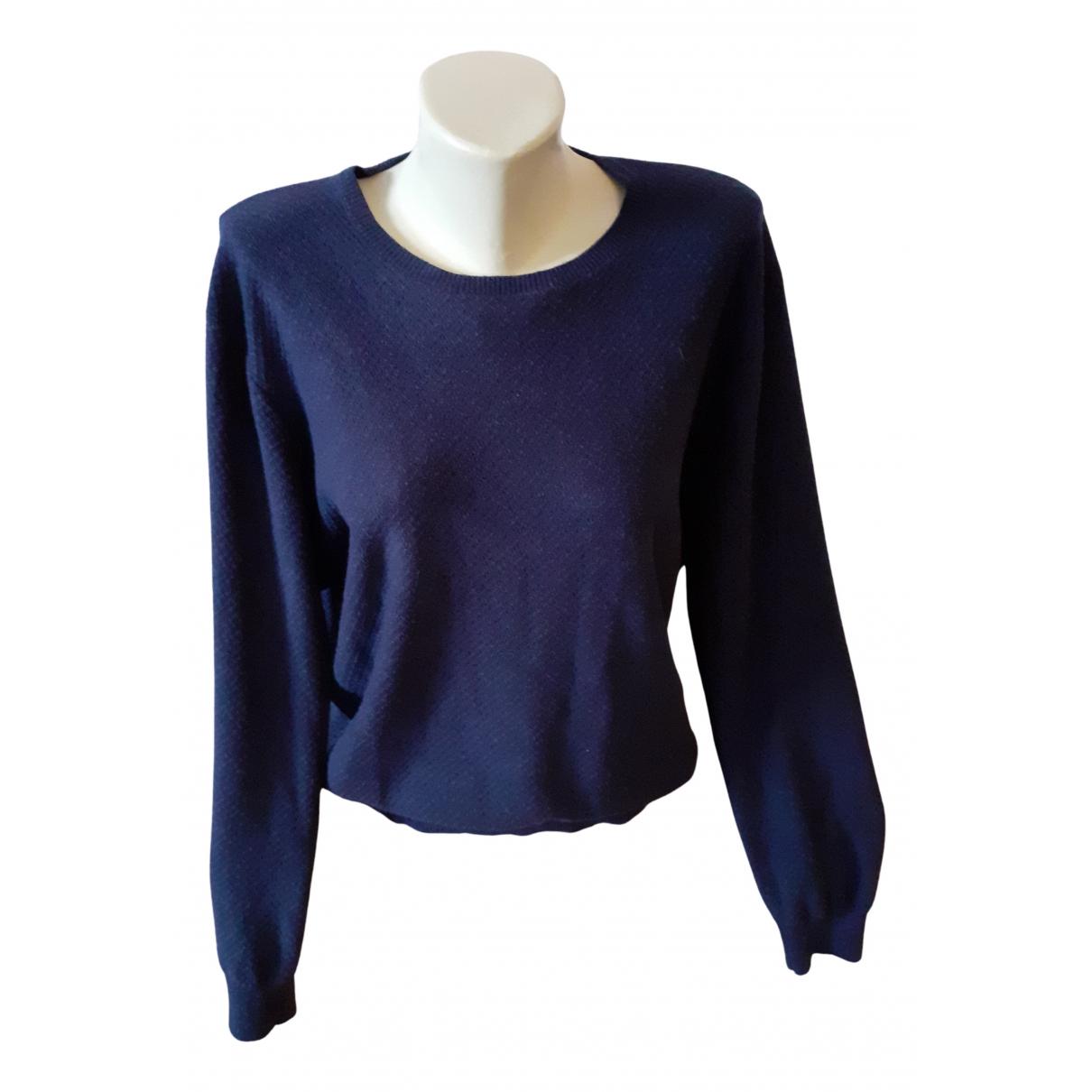 Non Signé / Unsigned N Blue Cashmere Knitwear & Sweatshirts for Men M International