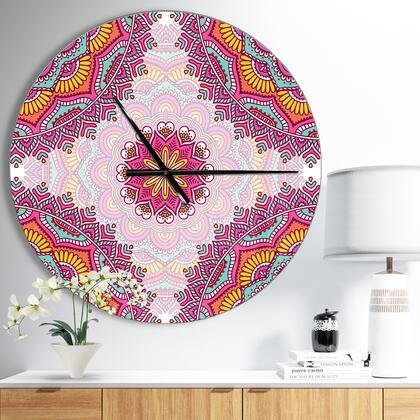 CLM009-C23 Ethnical Pink Floral