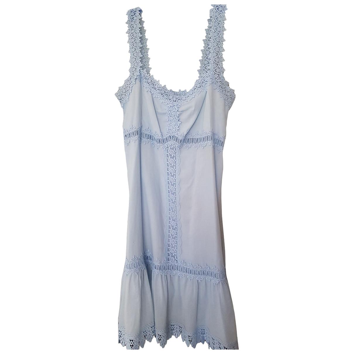 Charo Ruiz - Robe   pour femme en coton - turquoise