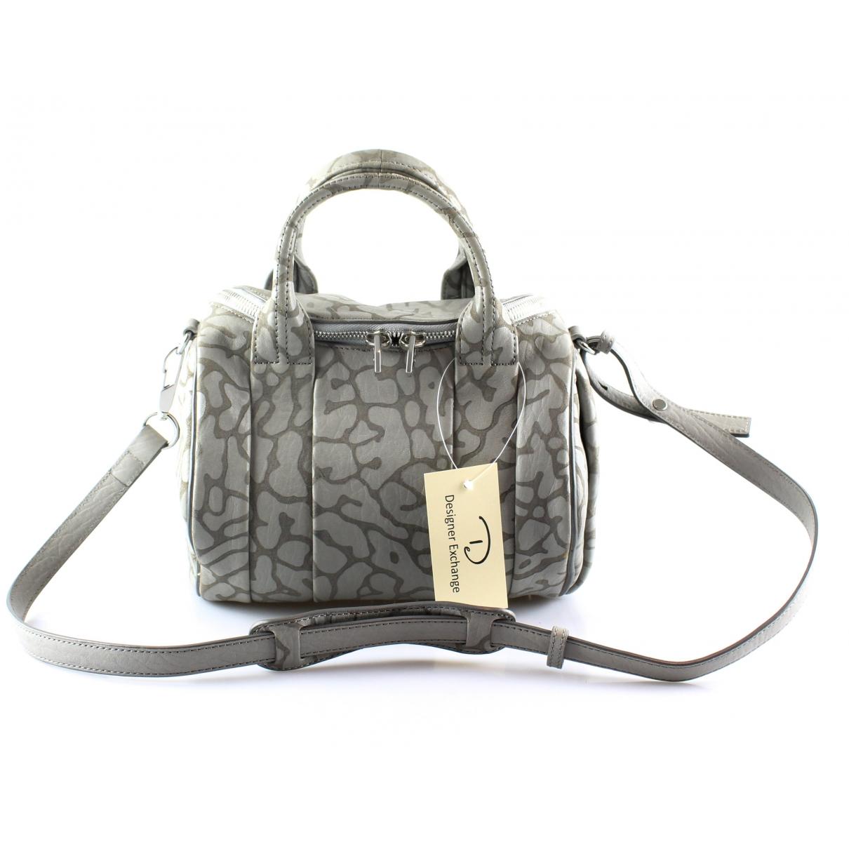 Alexander Wang Rockie Handtasche in  Schwarz Leder